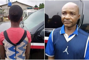 Man, 48, defiles wife's 13-year-old niece in Lagos