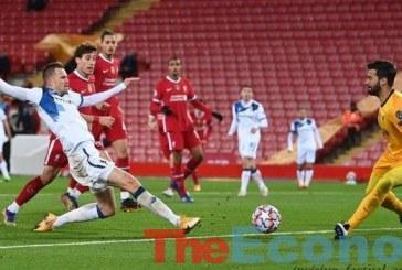 Atlanta shock Liverpool at Anfield
