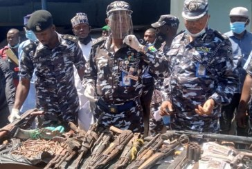 Kaduna police recover 65 guns, others from 157 kidnappers, bandits