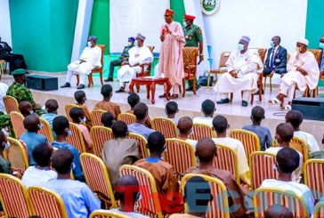 'How I Became President', Buhari Inspires Kankara Boys To Return To School