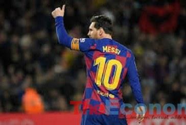 Maradona's son wants Messi's jersey retired