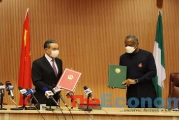 Nigeria, China sign Intergovernmental Cooperation pact