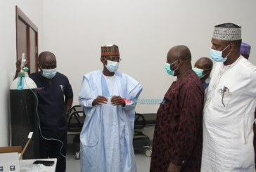 COVID-19: FCT Minister tours IDU Isolation/Treatment Center