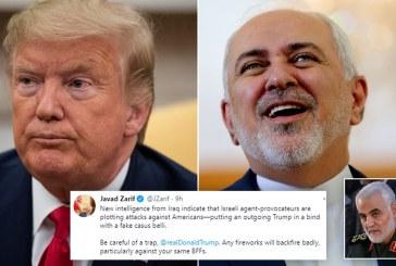 Iran Slams Retaliatory Sanctions against Outgoing Trump