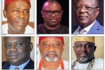 2023 Presidency: Where are Southeastern Candidates?