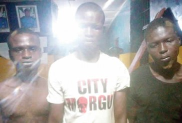Armed robbery: three arrested