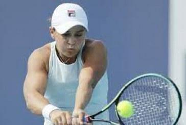 Miami Open: Barty for semi-finals, Medvedev wins
