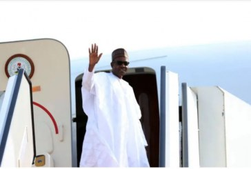 Buhari Goes to London for Routine Medical Check