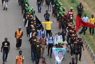 One Member Dies While IMN Protests in Abuja
