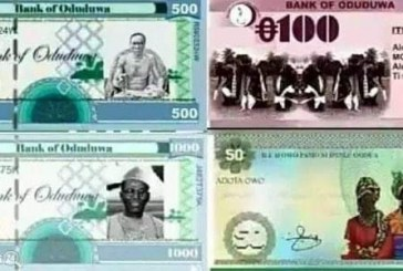 Proponents of Oduduwa Republic Launch Operational Currency, Other Details