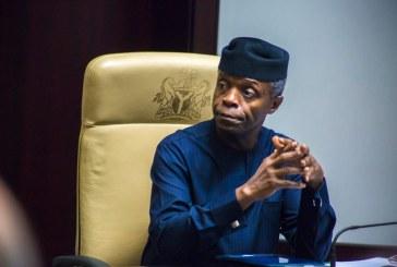 Nigeria needs $2.3trn to bridge infrastructural deficit – Osinbajo