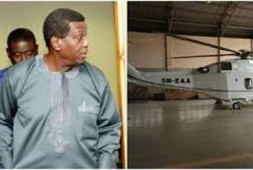 FAAN Grounds Pastor Adeboye's Helicopter