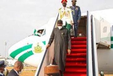 President Buhari Returns from Medical Trip to UK