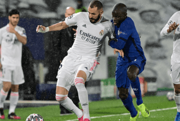 Champions League:Chelsea hold Real Madrid in semi-final first leg