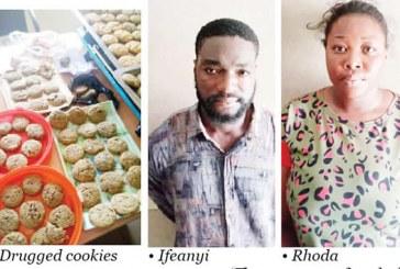 NDLEA busts drugged cookies syndicate, arrests undergraduate, boyfriend