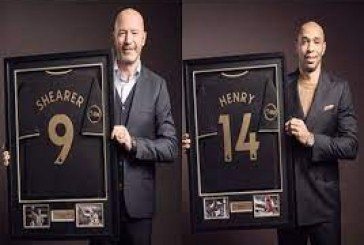 Henry, Shearer inducted into EPL Hall of Fame