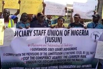 Buhari Orders Gambari, Ngige to Address Judiciary Workers' Strike, Others