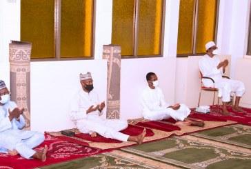 PRESIDENT BUHARI PARTICIPATES AT THE CLOSE OF RAMADAN TAFSIR.