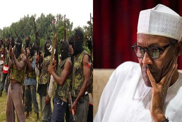 """""""I've Responded to Demands, Threats are Pointless"""" — Buhari tells Niger Delta Avengers"""