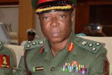 Army Headquarters in Abuja, Gen. Nwachukwu