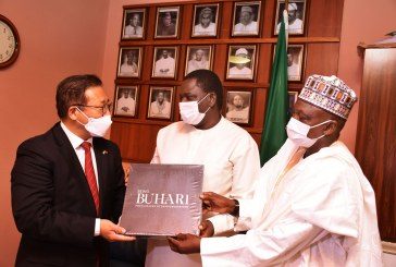Chinese Ambassador to Nigeria visit Aso Rock