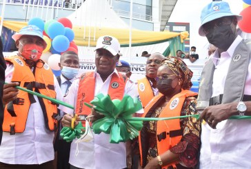 Inauguration of New Boats and Cowry Card for Water Transportation
