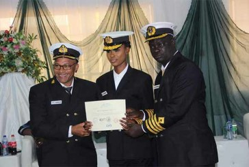 Nigeria's first female tugboat captain emerges