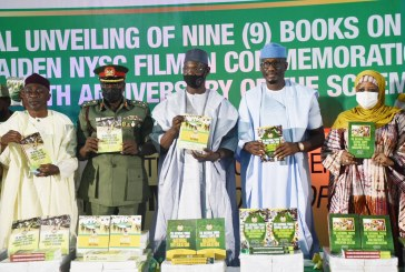 Unveiling of nine books and Maiden NYSC film