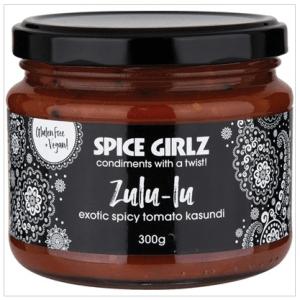 SPICE GIRLZ Zulu-Lu Exotic Spicy Tomato Kasundi 250g