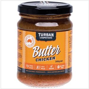 TURBAN CHOPSTICKS Curry Paste Butter Chicken 240g
