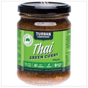TURBAN CHOPSTICKS Curry Paste Thai Green Curry 240g