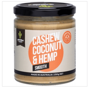 Natural Nut Butter Cashew Coconut - Smooth 250g