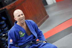 Royce Gracie coaching an awesome seminar at The Edge!