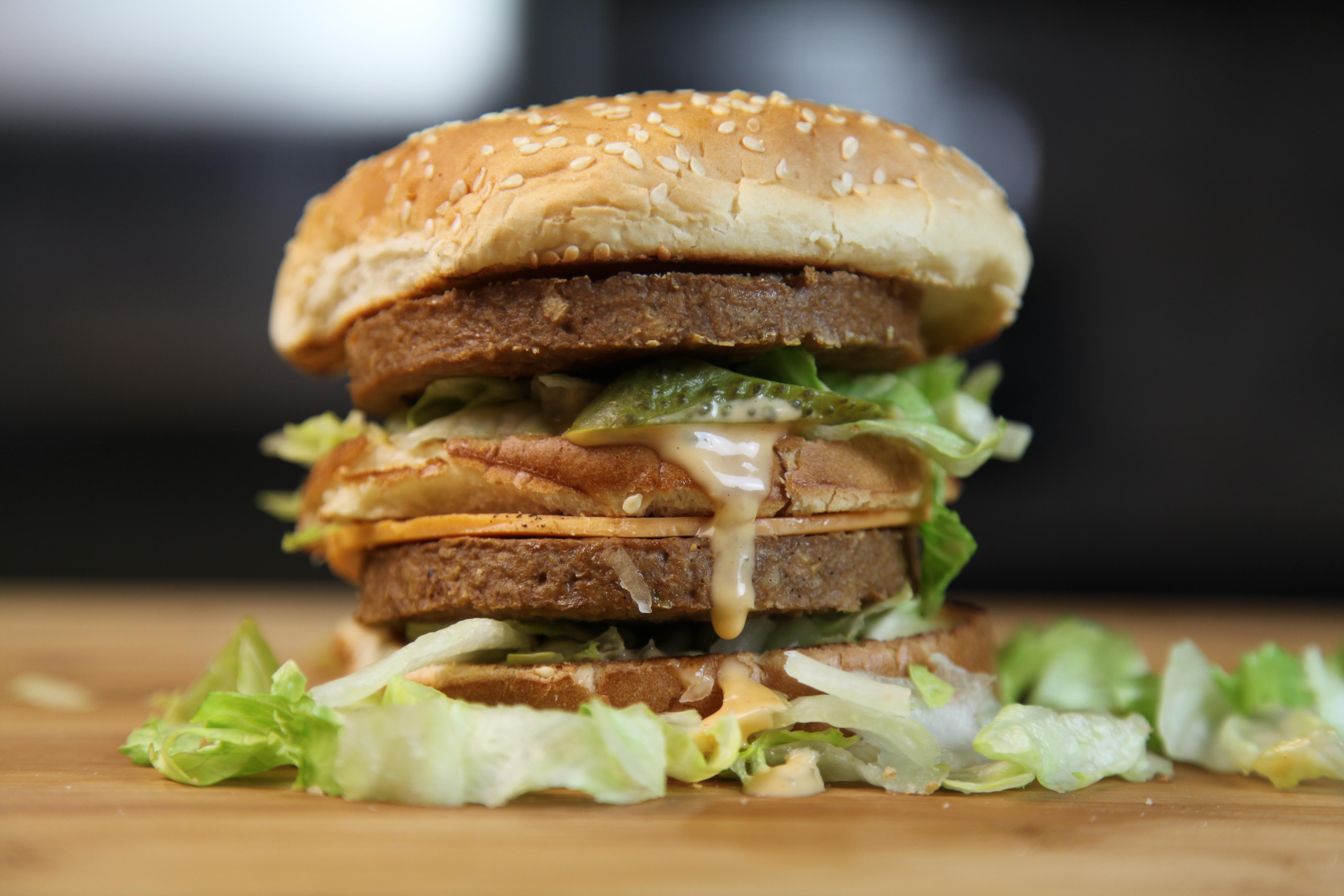 The vegan big mac the edgy veg - Fast good cuisine big mac ...