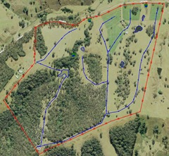 Farm water layout