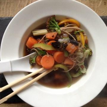 5:2 diet Vegetarian Pho recipe