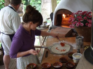 pizza oven cookery course