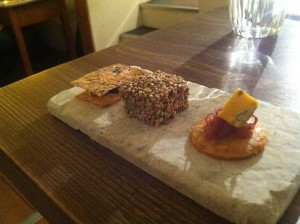 gorse snacks canapes