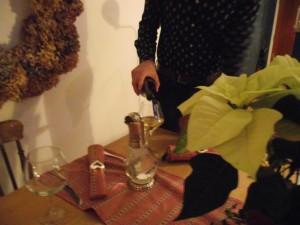 the man pouring domaine de l'engarran