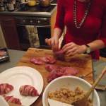 stuffing partridge with partridge in a pear tree