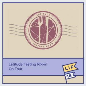 LIF16 events Latitude wine tasting