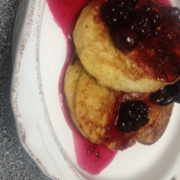 healthy, easy banana pancakes recipe