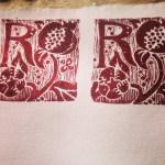 print projects - bespoke christening gift