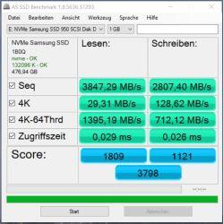 950 Pro RAID0 AS SSD