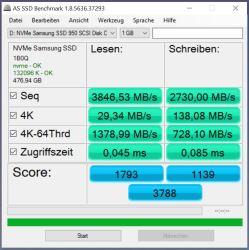 950 Pro RAID0 AS SSD(samsung driver)