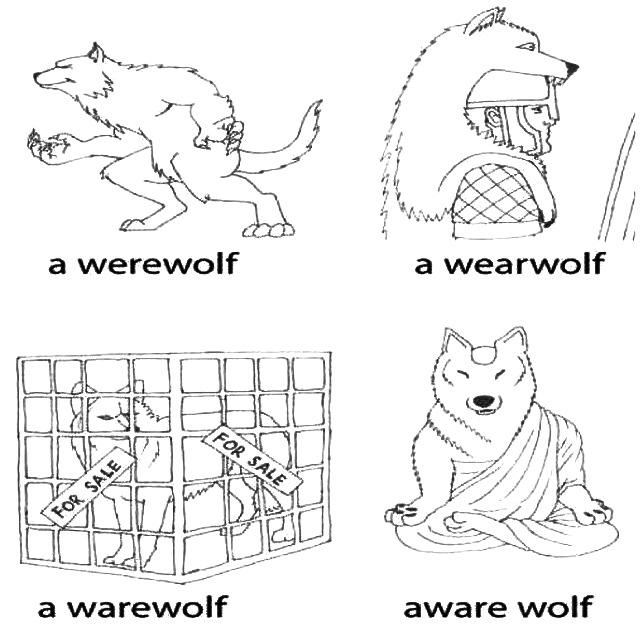 Werewolf fun