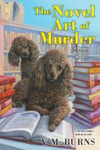 Novel Art of Murder by VM Burns