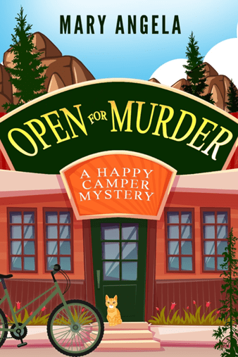 Open for Murder, A Happy Camper Mystery by Mary Angela