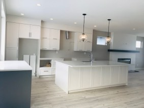 Progress on a kitchen I designed last fall