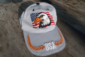 baseball cap with USA and American Eagle, Baseball Caps - Good Traveling Hat? www.theeducationaltourist.com